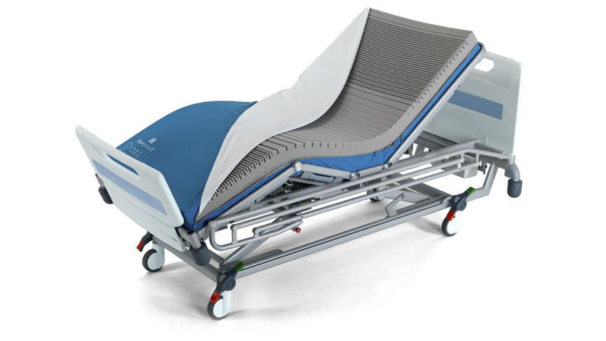 Hospital bed overlay mattress / anti-decubitus / foam / visco-elastic Simulflex ArjoHuntleigh