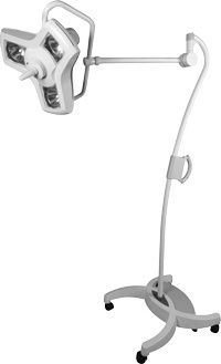 Minor surgery examination lamp / halogen / on casters Mira 63 Amico Corporation