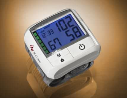 Automatic blood pressure monitor / electronic / wrist IN4 KP-7270 IN4 Technology Corp.