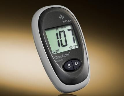Blood glucose meter GlucoAlpha ENHANCE IN4 Technology Corp.