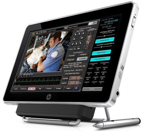 Medical tablet PC with touchscreen / for emergency vehicles LifeBot® Slate LifeBot