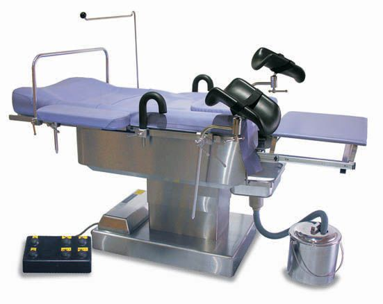 Gynecological operating table / electrical OT-800G St. Francis Medical Equipment