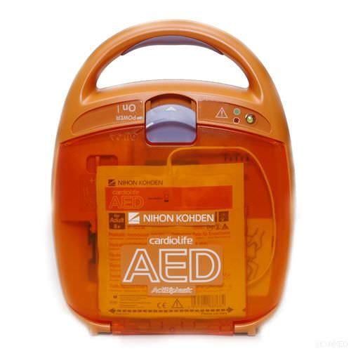 Automatic external defibrillator cardiolife AED-2100K Nihon Kohden Europe