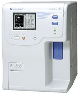 Automatic hematology analyzer / leukocyte distribution / 22-parameter Celltac E MEK-7222 Nihon Kohden Europe