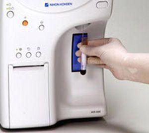 Automatic hematology analyzer / 19-parameter / leukocyte distribution / compact Celltac ? MEK-6500, MEK-6510 Nihon Kohden Europe