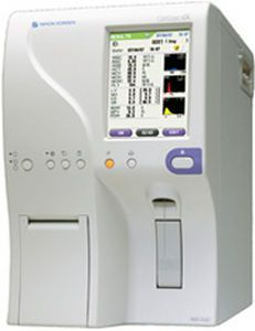 Automatic hematology analyzer / 20-parameter / leukocyte distribution / compact Celltac ? MEK-6450 Nihon Kohden Europe