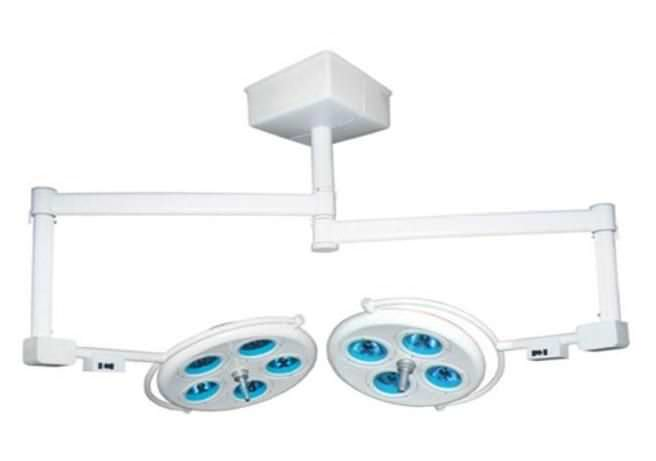 Halogen surgical light / ceiling-mounted / 2-arm 160000 lux | INP - 5X4FTL INPROMED DO BRASIL