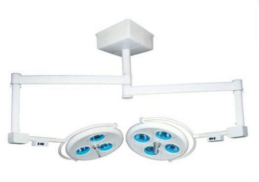 Halogen surgical light / ceiling-mounted / 2-arm 140000 lux | INP - 4X3FTL INPROMED DO BRASIL