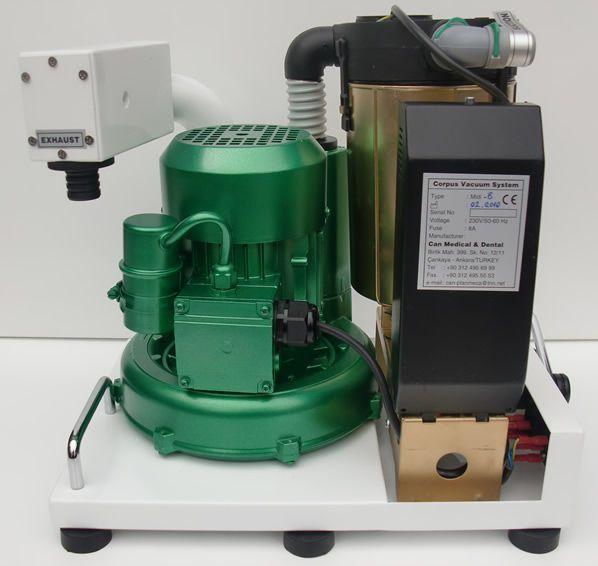 Dental vacuum pump / dry Corpus CABRIO CORPUS VAC