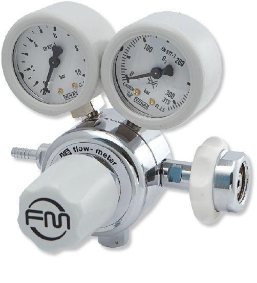 Medical gas double pressure regulator FM Series Flow-Meter