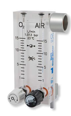 Anesthesia gas blender / O2 / air / with tube flow meter RM/145-2 / RM/185-2 Flow-Meter