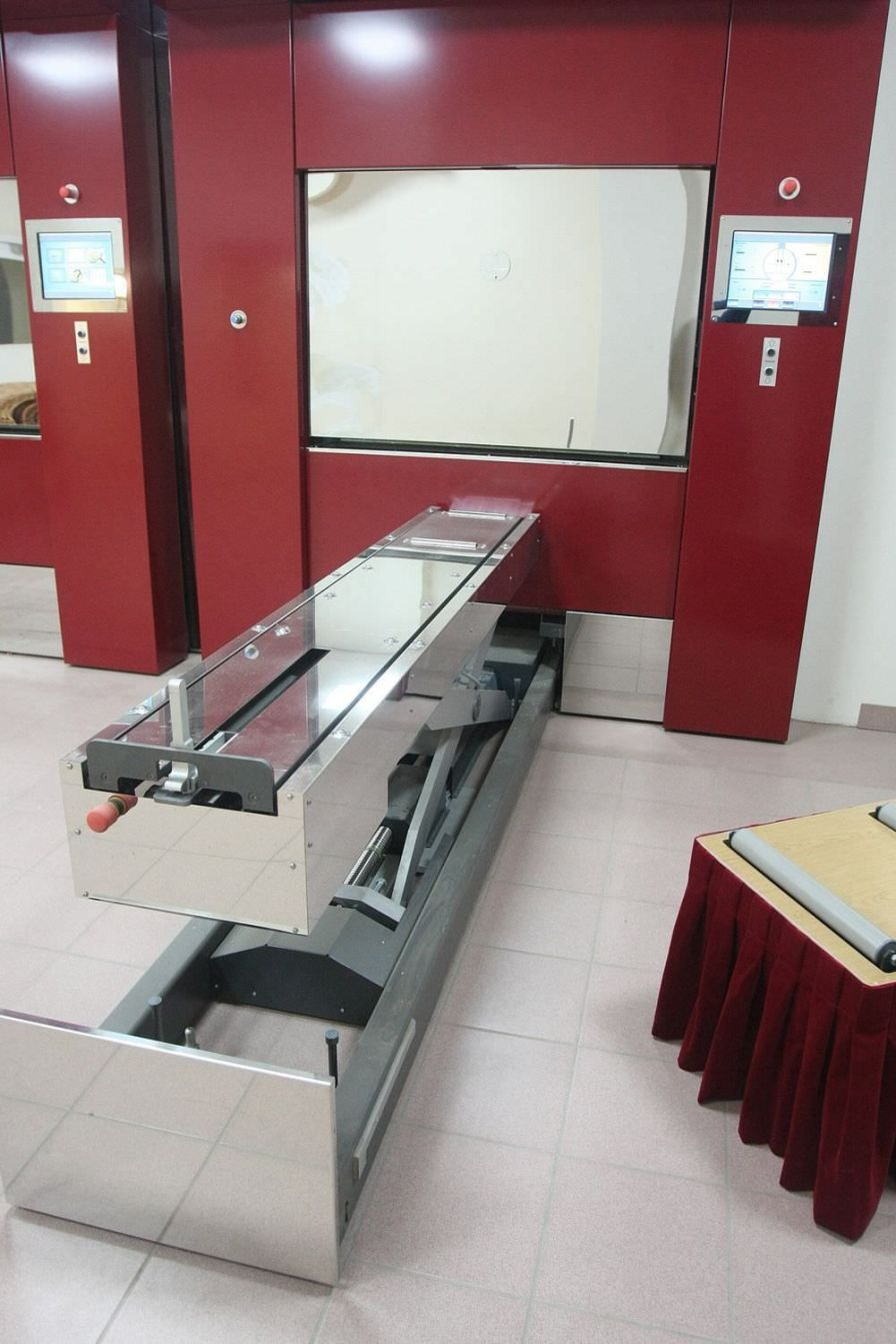 Coffin trolley / lifting Catafalque DFW Europe