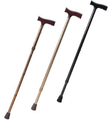 T handle walking stick / height-adjustable APC-Leisure Apex Health Care