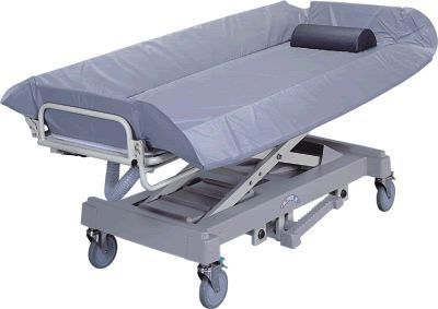 Hydraulic shower trolley / height-adjustable APC-80831 Apex Health Care