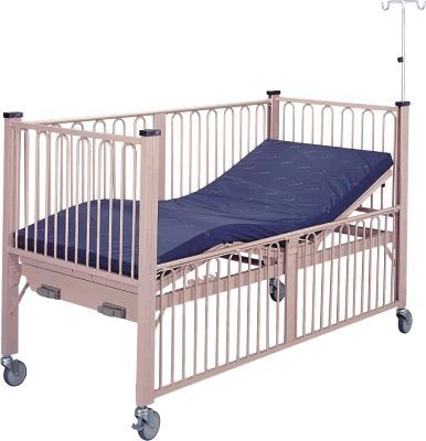 Mechanical bed / 4 sections / pediatric APC-80657 Apex Health Care