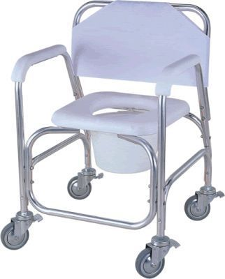 Commode chair / on casters APC-7002 Apex Health Care