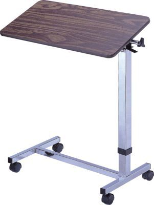 Height-adjustable overbed table / reclining / on casters APC-10212 Apex Health Care