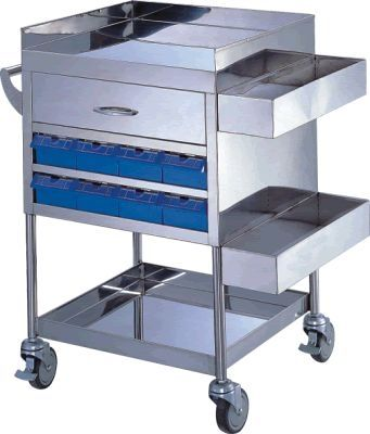 Multi-function trolley / with drawer APC-61200 Apex Health Care