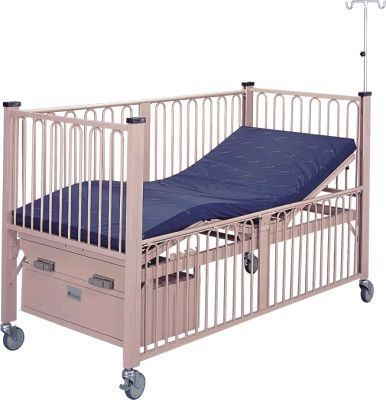 Mechanical bed / 4 sections / pediatric APC-80656 Apex Health Care