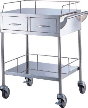 Multi-function trolley / with drawer / 1-tray APC-60701 Apex Health Care
