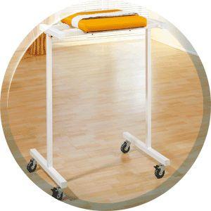 Trolley with hanging rack / 1-tray 24.0000 HWK - Medizintechnik