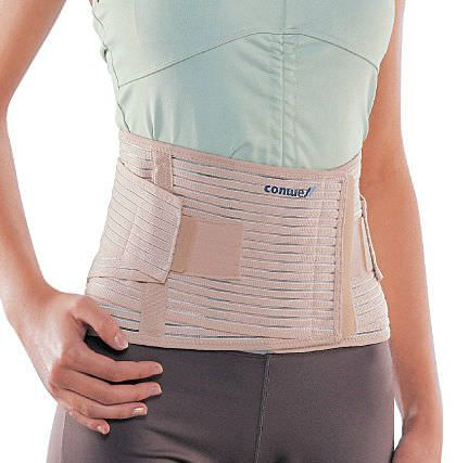 Lumbar support belt / with reinforcements / flexible 5502 Conwell Medical