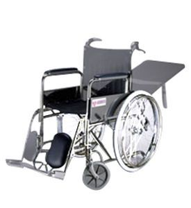 Patient transfer chair with adjustable backrest MC-281S / C / A Medcare Manufacturing
