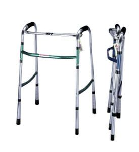 Folding walker / height-adjustable WK-100A Medcare Manufacturing