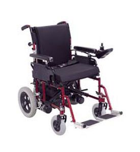 Electric wheelchair / exterior / with legrest CH-A1 Medcare Manufacturing