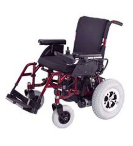 Electric wheelchair / exterior / with legrest CH-A3 Medcare Manufacturing