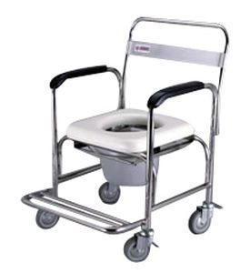 Shower chair / on casters / with bucket SH-100S Medcare Manufacturing