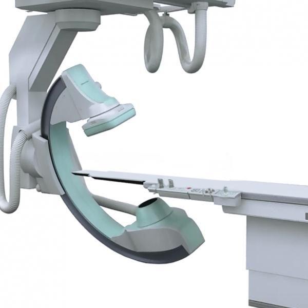 Fluoroscopy system (X-ray radiology) / for diagnostic fluoroscopy / with C-arm Trinias C12 Shimadzu Europe