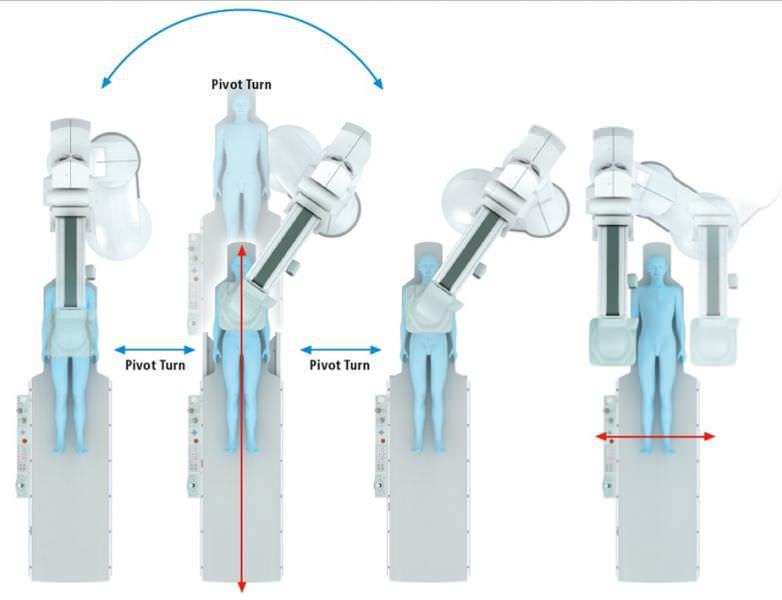 Fluoroscopy system (X-ray radiology) / for diagnostic fluoroscopy / with C-arm BRANSIST alexa F12 Shimadzu Europe