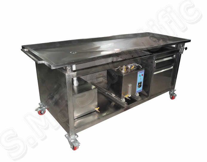 Embalming workstation SMI-4029 S.M. Scientific Instruments