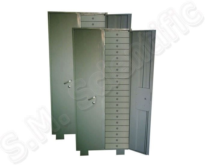 Storing cabinet / paraffin blocks / for healthcare facilities SMI-237 S.M. Scientific Instruments
