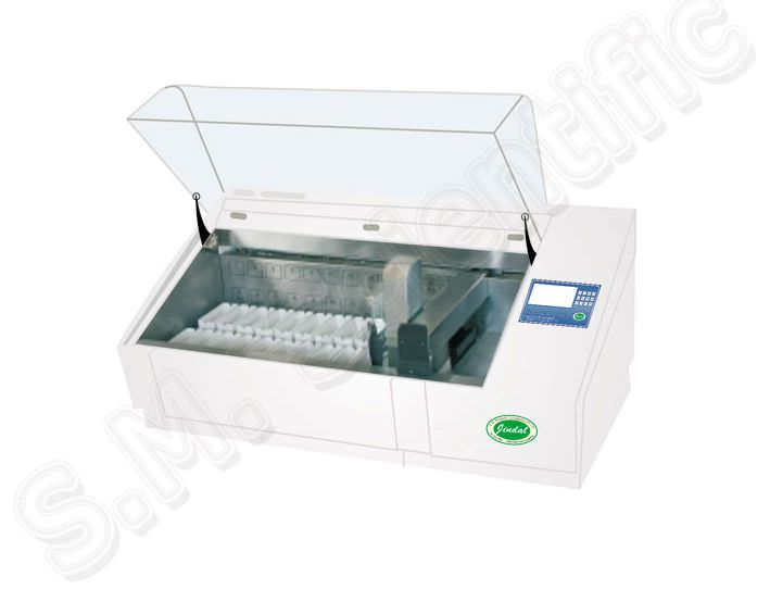 Staining automatic sample preparation system / for histology SMI-4024 S.M. Scientific Instruments