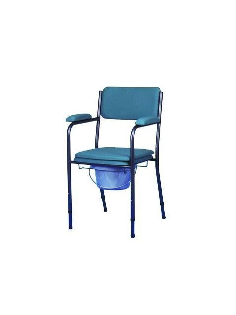 Commode chair / with armrests / height-adjustable GR 121 HMS-VILGO