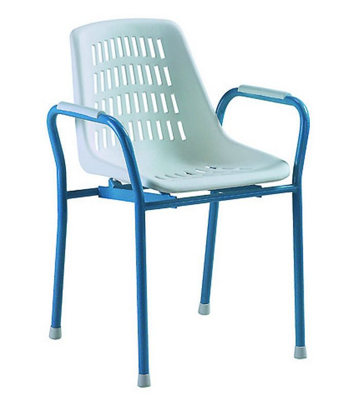 Shower chair / with armrests / with backrest Hyséa 400 HMS-VILGO