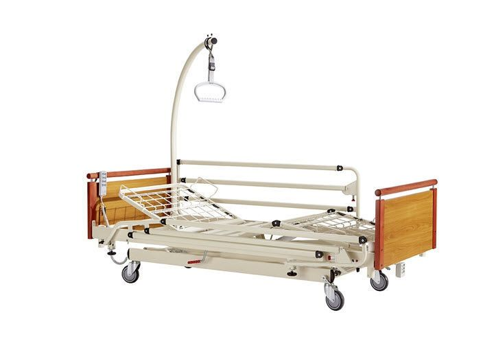 Nursing home bed / electrical / height-adjustable / on casters EURO 7000 ELIXIR HMS-VILGO