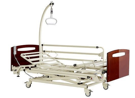 Nursing home bed / electrical / height-adjustable / on casters EURO 1002 PREMIUM HMS-VILGO