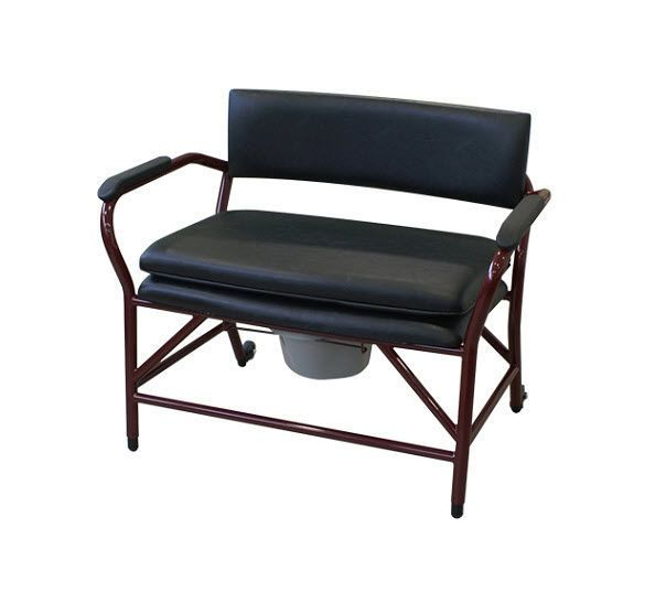 Commode chair / with bucket / with armrests / bariatric CANDY 800 FORTISSIMO HMS-VILGO