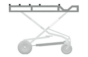 Mortuary trolley / coffin Mega Jack Spencer Italia