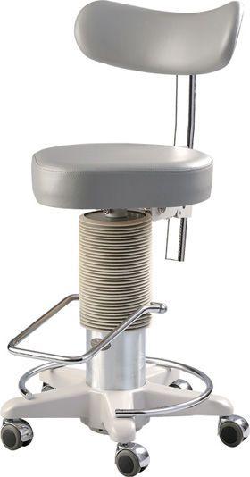 Medical stool / height-adjustable / on casters / rotating OC-1B Takagi Ophthalmic Instruments Europe