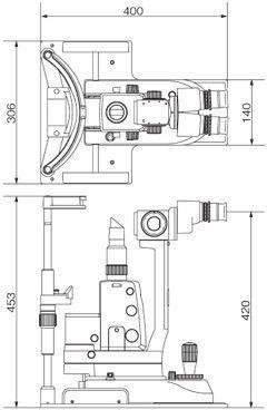 Slit lamp 300XL Takagi Ophthalmic Instruments Europe