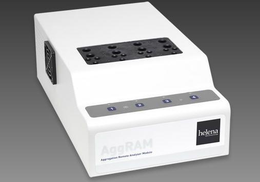Platelet aggregation system AggRAM Helena Biosciences Europe