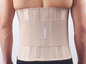 Thoracic support belt / lumbar / thoracolumbar (TLO) 6507 Jiangsu Reak Healthy Articles