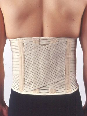 Lumbar support belt / flexible / with reinforcements 6506 Jiangsu Reak Healthy Articles