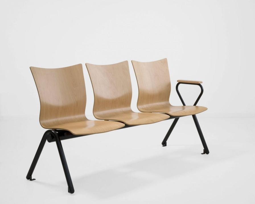 Beam chair / for waiting room / 3 seater SAX 508 Workware