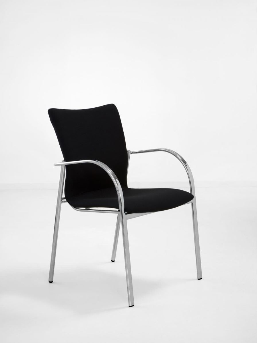 Waiting room chair / with armrests SAX 507 Workware