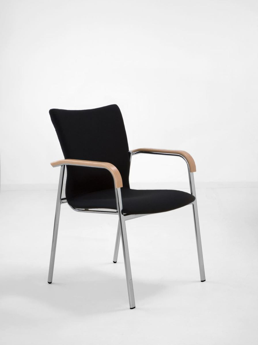 Waiting room chair / with armrests SAX 508 Workware